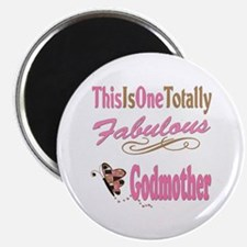 """Totally Fabulous Godmother 2.25"""" Magnet (10 pack)"""