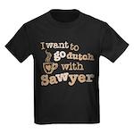 I want to go dutch w/Sawyer Kids Dark T-Shirt