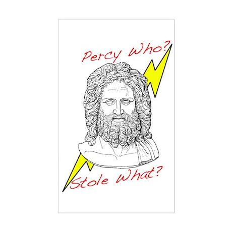 Percy Design 1 Sticker (Rectangle)