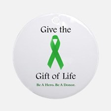 Gift of Life Ornament (Round)