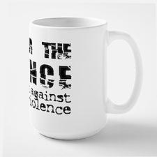 Shatter the Silence Large Mug
