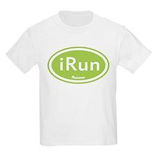 Green iRun Oval T-Shirt