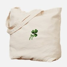 Vintage Shamrock Tote Bag