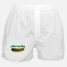 Pickles Is My Thing Boxer Shorts