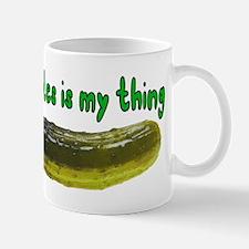 Pickles Is My Thing Mug