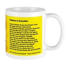 Eurydice's Joy Poetry Mug