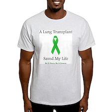 Lung Transplant Survivor Ash Grey T-Shirt
