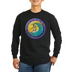 Tidal Dog Long Sleeve Dark T-Shirt