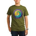 Tidal Dog Organic Men's T-Shirt (dark)