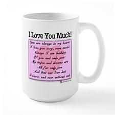 I Love You Much Mug