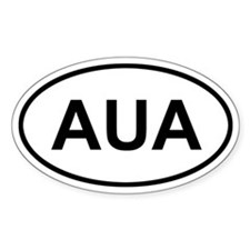 Aruba AUA Decal