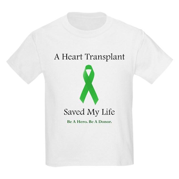 Heart Transplant Survivor Ash Grey Kids Light T-Shirt ...