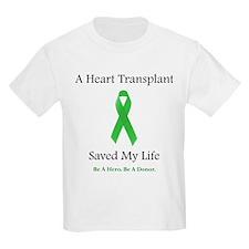 Heart Transplant Survivor Kids T-Shirt