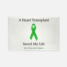 Heart Transplant Survivor Rectangle Magnet