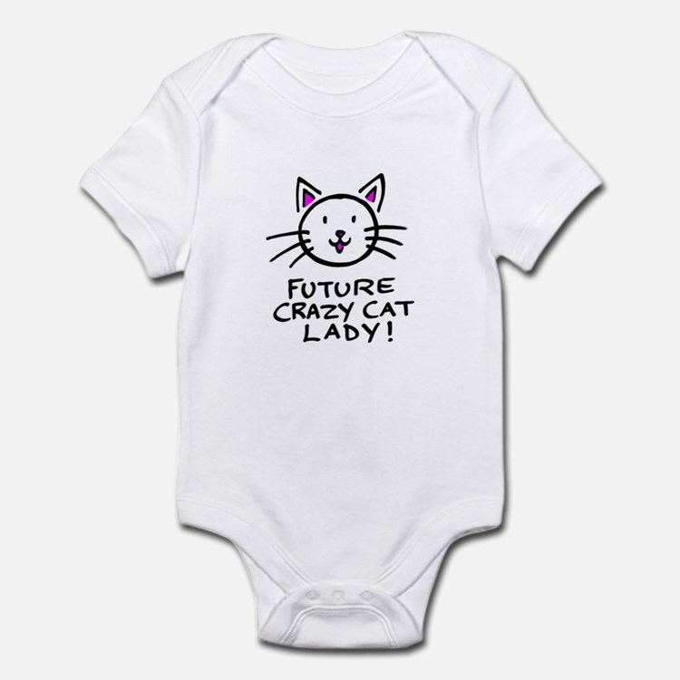 Future Crazy Cat Lady Infant Bodysuit