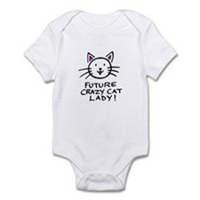 Future Crazy Cat Lady Onesie