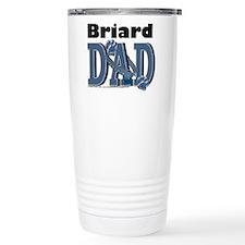 Briard DAD Travel Mug