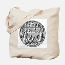 Jousting Knights Tote Bag