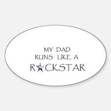 Rockstar Dad Decal