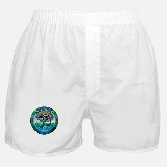 Namaste Symbol Boxer Shorts