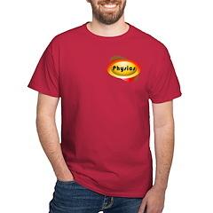 Physics Oval Pocket Image T-Shirt