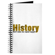 Brown Repeat History Journal