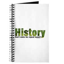 Green Repeat History Journal