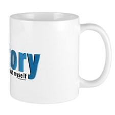 Blue Repeat History Mug