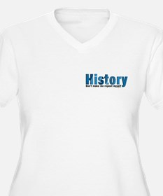Blue History Pocket Area T-Shirt