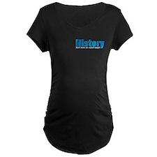 Blue History Pocket Area T-Shirt