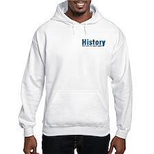 Blue History Pocket Area Hoodie