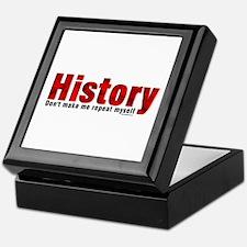Repeat History Red Keepsake Box