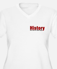 Red Repeat History Pocket Area T-Shirt