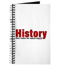 Repeat History Red Journal