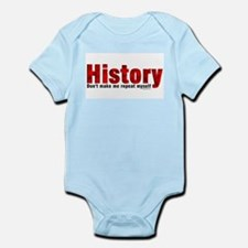 Repeat History Red Infant Bodysuit