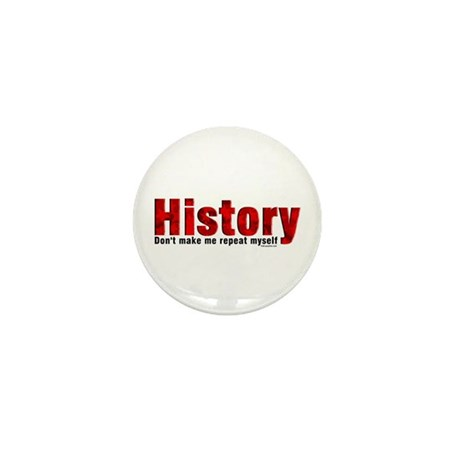 Repeat History Red Mini Button (100 pack)