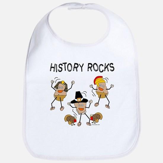 History Rocks Bib