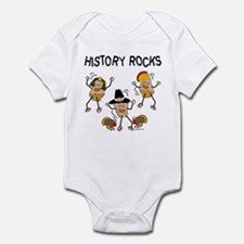 History Rocks Infant Bodysuit