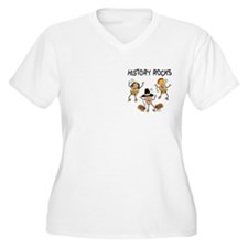 History Rocks Pocket Image T-Shirt