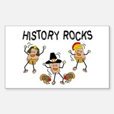 History Rocks Decal