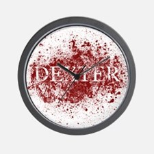 Unique Blood splatter Wall Clock