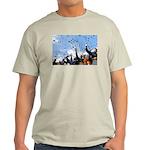 Thunderbirds Over Academy Ash Grey T-Shirt