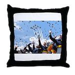 Thunderbirds Over Academy Throw Pillow