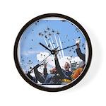 Thunderbirds Over Academy Wall Clock