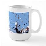 Thunderbirds Over Academy Large Mug