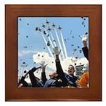 Thunderbirds Over Academy Framed Tile