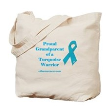 Proud Grandparent of a Turquo Tote Bag