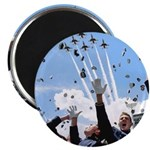 "Thunderbirds Over Academy 2.25"" Magnet (100 p"