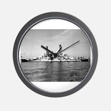 USS Nevada Ship's Image Wall Clock
