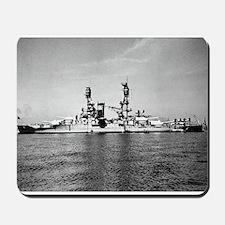 USS Nevada Ship's Image Mousepad